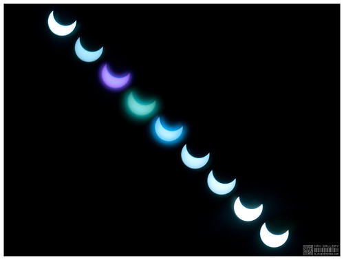 Solar eclipse Jan 15, 2010 in Chiang Mai, Thailand by b. inxee♪♫.