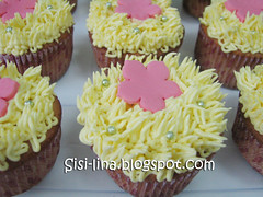 cupcake kuning