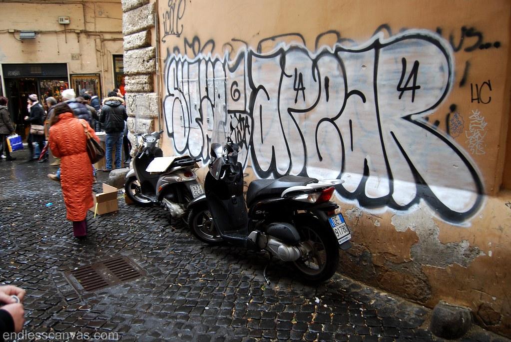 Sufer Apear MTA Crew Rome Italy.