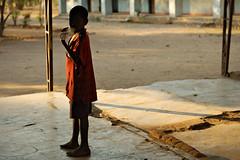 Boy with a bottle - Kawaza village - Zambia (PascalBo) Tags: nikon d70 kawaza zambia zambie eastafrica afriquedelest southernafrica afriqueaustrale africa afrique boy garçon kunda kid people child enfant shadow ombre pascalboegli outdoor