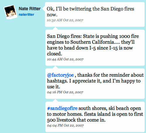 Nate Ritter and #sandiegofire