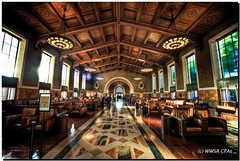 Los Angeles Union Station (California CPA) Tags: california losangeles trainstation unionstation hdr artwalk toprint photomatix sigma1530mm