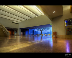 Museum Lobby (Cliff_Baise) Tags: architecture courtyard hdr fortworthmuseumofscienceandhistory