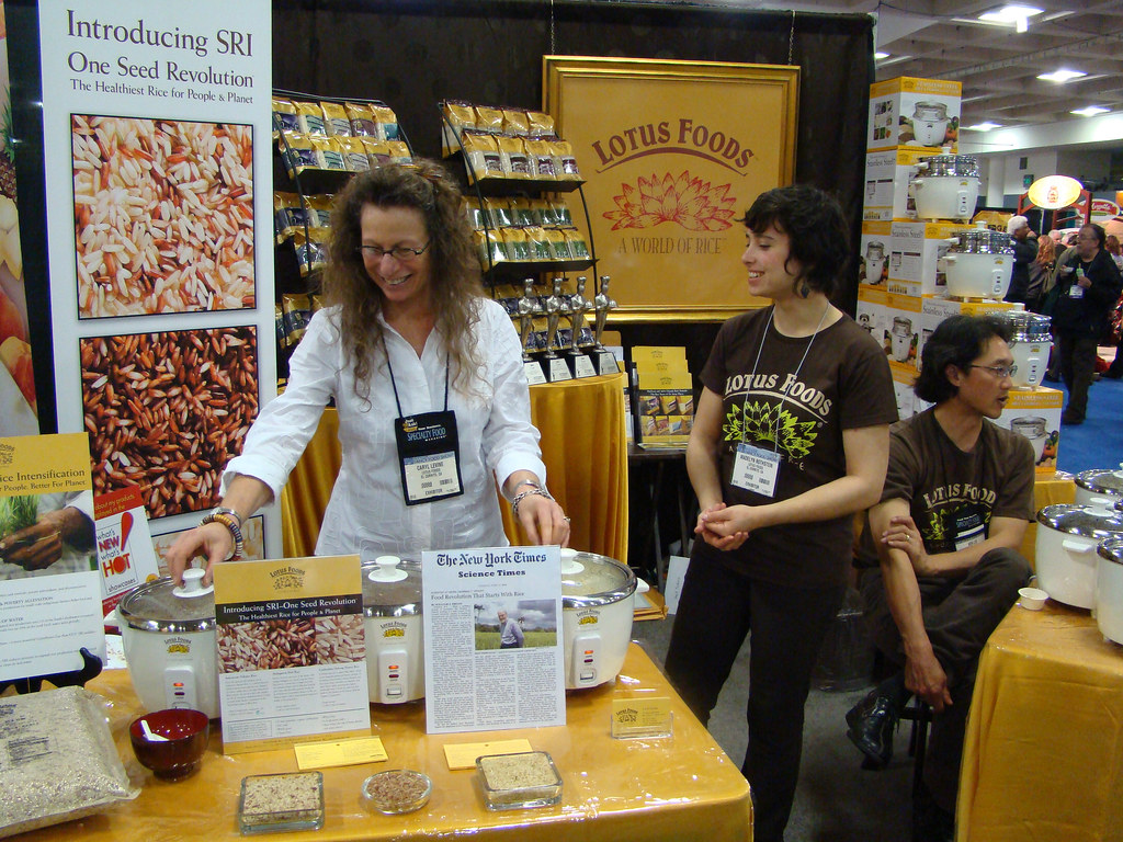 DSC04367 Lotus Foods booth