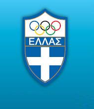 Logo del Comitato Olimpico Greco- Hellenic Olympic Commitee Logo