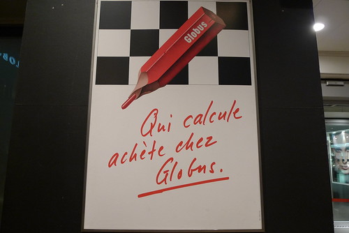 Vitrines Globus Geneve - Janvier 2010