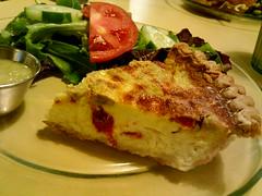 Sundried Tomato Artichoke Quiche