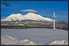 ~ Faithfully ~ (~ Western Dreamer ~) Tags: winter northerncalifornia volcano cross postcards volcanoes spiritual mountshasta snowcovered faithful cascademountains lenticulars lenticularclouds faithfully westerndreamer candidcapturesphotography siskiyoucountyscenery westerncapturescom mountshastapostcard