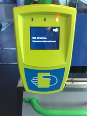 Myki scanner out of service