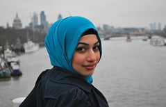 London Calling (stretch500) Tags: portrait london girl beauty muslim hijab londoncalling theclash therealwomanbeauty