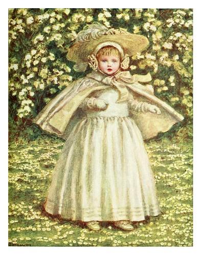 025-La niña de blanco-Kate Greenaway 1905- Marion Spielmann y George Layard