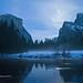 Merced River Moonrise