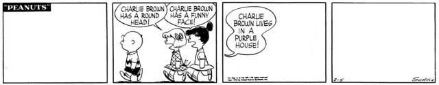 Peanuts Minus Snoopy with Charlie Brown, Violet, and Patty