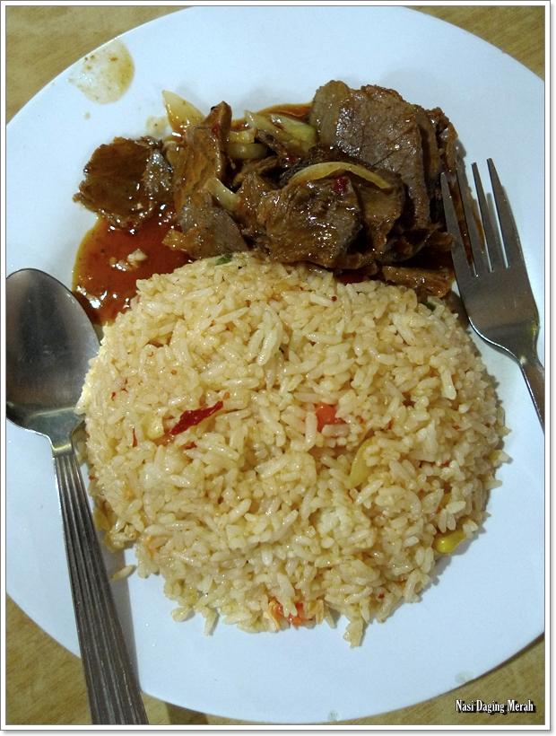 Nasi Daging Merah