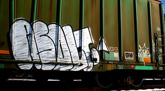 Asolt (mightyquinninwky) Tags: railroad graffiti tag graf railway tags tagged railcar graff graphiti trainart rollingstock paintedtrain spraypaintart movingart asolt stdr frnk taggedtrain railroadart asolter paintedrailcar taggedrailcar