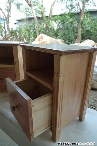 木工 床邊櫃-25