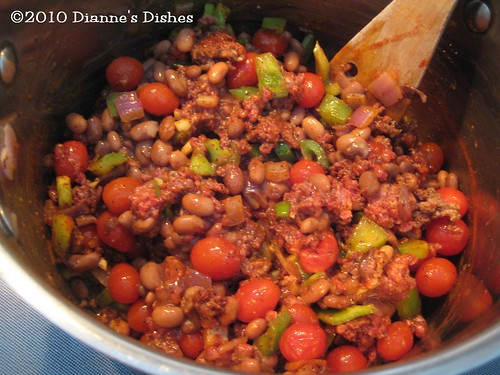 Snowy Day Chili: Ready for Diced Tomatoes