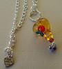 Truly Love You (Glittering Prize - Trudi) Tags: silly glass silver one beads heart moo jewellery trudi lampwork topaz sra goldstone roase glitteringprize