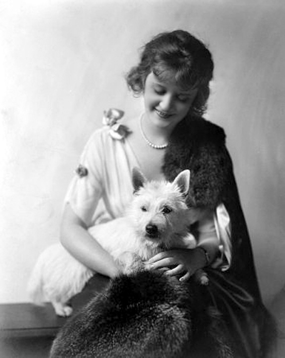 billie burke and westie
