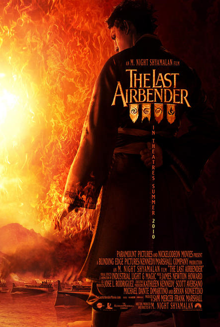 The Last Airbender Movie Poster Zuko Poster