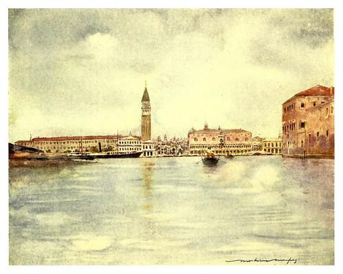 006-La dársena de San Marcos-Venice – 1904-Dorothy Menpes