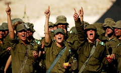 Soldiers Raising Morale (Israel Defense Forces) Tags: girls israel women soldiers israeli idf womensoldiers idfsoldiers israeldefenseforces groundforces girlsoldiers femalesoldiers infantryinstructors