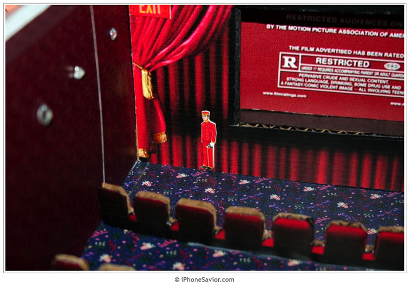 Shoebox iPhone Movie Theater