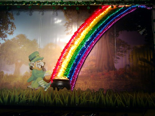 leprechauns & rainbows!