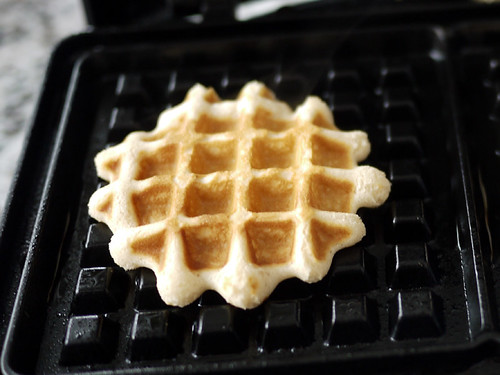 snow day waffles