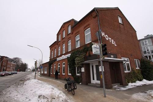 Hotel Grüner Kranz, Rendsburg.