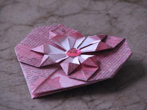 Origami Heart 033