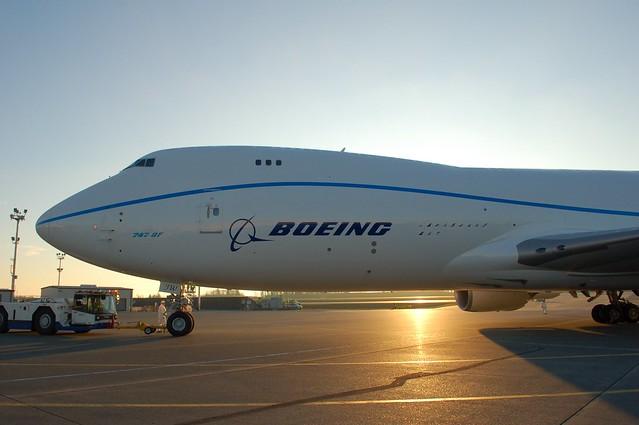 Boeing 747-8F N747EX RC501