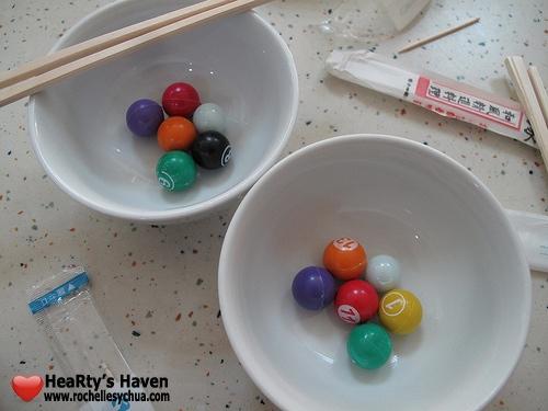 chopstick balls