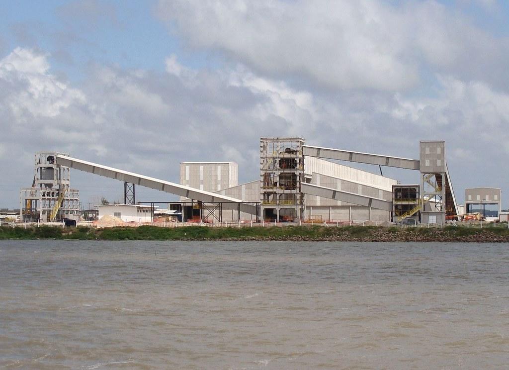 Porto terá novo terminal marítimo para fertilizantes. Crédito: Alan Bastos