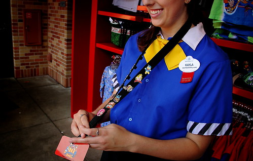 Disney's Human Elements - Kayla, Earning Her Ears / Pin Trading (by Scott Smith (SRisonS))