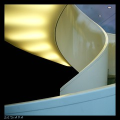 (sediama (break)) Tags: light reflection berlin stairs germany licht treppe staircase treppenhaus durchdiescheibe sediama kassenrztlicherdienst bysediamaallrightsreserved