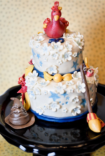 Girly Harry Potter Cake