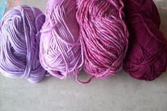 17 (fleurfatale) Tags: new wool colors crochet shades yarn cotton