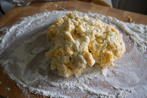 plop! off to knead you