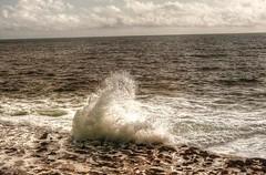 Wave (AlisonKillilea) Tags: county ireland sea west water landscape coast clare doolin wave cliffs coastline burren karst hdr moher lahinch burrn lehinch