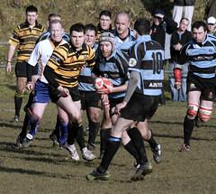 Pontyberem v Kidwelly (Malcolm Alce-King) Tags: wales carmarthenshire rugby wfc cfw pontyberemrfc