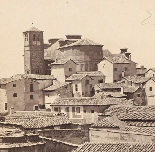 Santiago del Arrabal hacia 1860. Foto de Napper para Frith & co. (detalle)