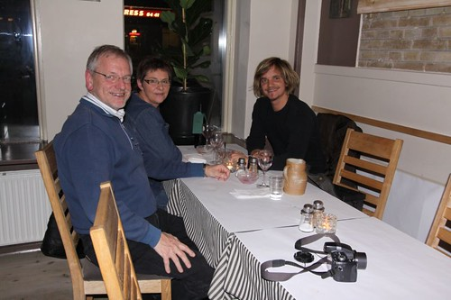 Dinner at the Restaurant Artis-Kokken with my parents. Middelfart, Denmark.