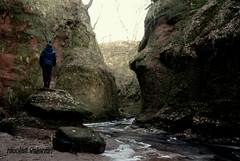 Go deep....... (Nicolas Valentin) Tags: river scotland down canyon adventure nicolasvalentin