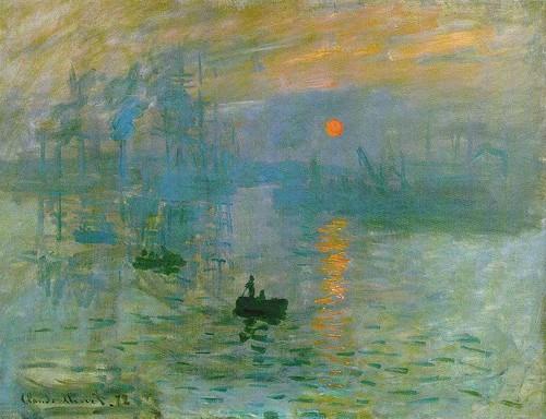 Monet sunrise