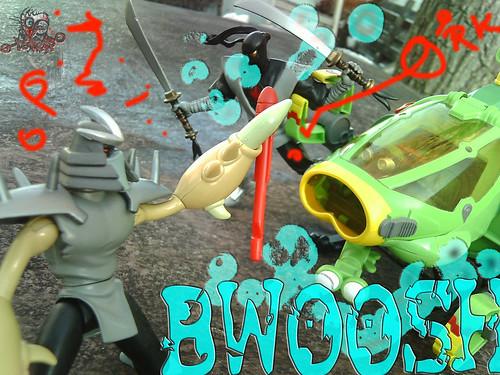 Teenage Mutant Ninja Turtles :: SHELL SUB..; Tur-pedo deflected