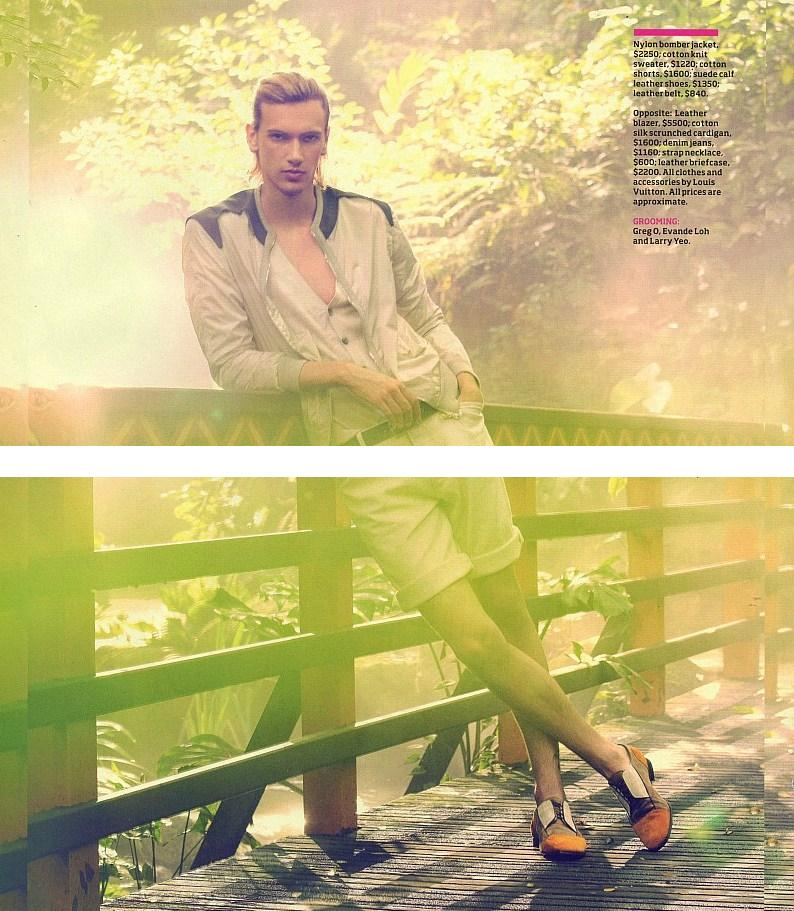 Daytripper in Louis Vuitton by GQ Australia