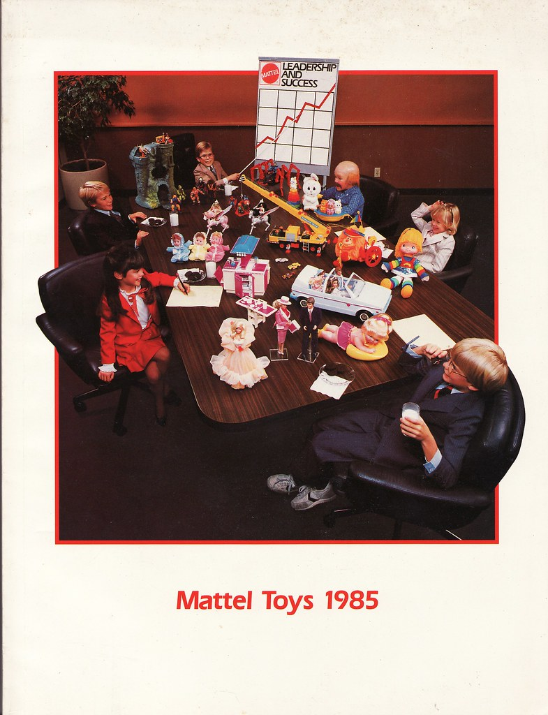 Mattel Toys 1985