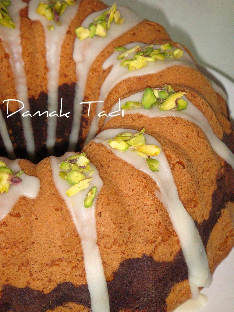 Nutellalı,Portakallı,A.Fıstıklı Kek