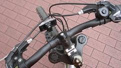 Handle-Bars (Pozland) Tags: plaza bike bicycle japan canon shocks cycle tama don brake yokohama grip hummer kanagawa quixote daiwa pozland sd780is